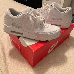 White Air Max 90s Men Size 9